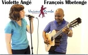 Interview : François Mbetenge et Violette Angé, une rencontre qui peut changer le visage de la chanson congolaise à jamais.