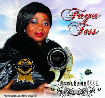 DVD Faya Tess - Désoléeee