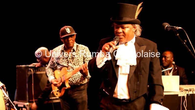 Barly Baruti et Dino Vangu au concert - Copyright Univers Rumba Congolaise