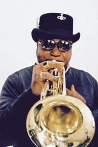 Valentin Ntumba, trompettiste congolais