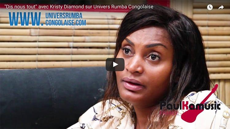 Émission «Dis nous tout » : Interview de Kristy Diamond