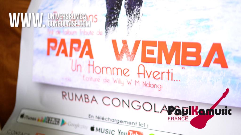 Émission «Dis nous tout » : Sur l'album tribute de Papa Wemba « Un homme averti »