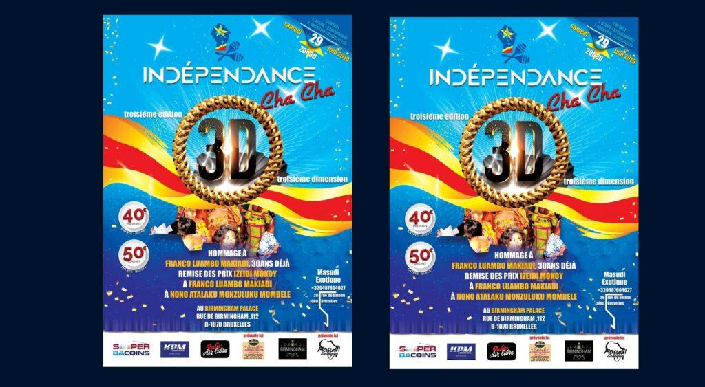Indépendance Cha Cha : 3ème édition